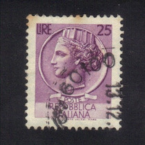Selo Itália - República Italiana - Efígie