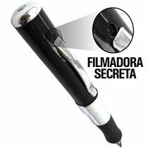 Caneta Espiã Câmera Filmadora Filma Foto Full Hd 1280x960