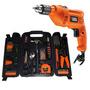 Furadeira Impac Black Decker 560w 110v Tm500 +kit Ferramenta