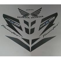 Kit Adesivos Honda Cbx 250 Twister 2007 Prata
