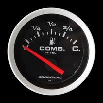 Indicador Combustivel Cronomac Sport 52mm Opala 1979 ~ 1984
