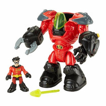 Imaginext Dc Super Friends Robin & Mechanical Suit