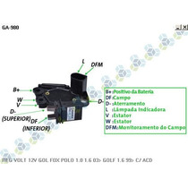 Regulador Voltagem Vw Polo 1.0 1.6 03/... - Gauss