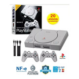 Playstation 1 Classic Mini - Ps One Classic C/ 20 Jogos Nf-e