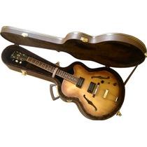 Estojo Case Extra Luxo P/ Guitarra Semi Acustica Ibanez