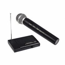 Microfone Sem Fio Simples Vhf Wvngr Sm-200