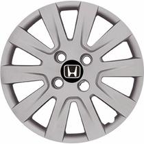 Jogo Calota Aro 14 Honda Civic Fit 04 Peças Lançamento