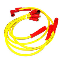 Jogo Cabo De Vela Silicone Amarelo 8mm Ap 1.6 1.8 2.0