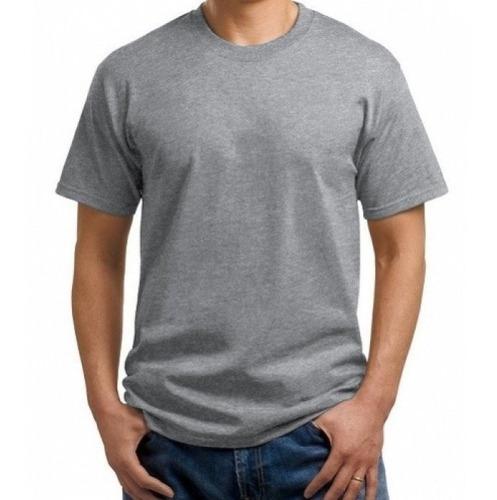 e1c84159f 12 Camisetas Cinza Mescla 100% Poliéster Pra Sublimação