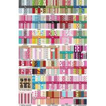 520 Kits Papel Scrapbook Digital - Frete Grátis
