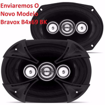 Kit Alto Falante Bravox Quadriaxial 6x9 250w Rms B4x69t