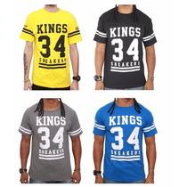 Camiseta Camisa Kings Sneakers | Masculina | Frete Grátis!