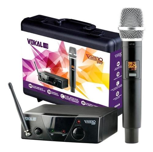 Microfone Sem Fio Vokal Vms10