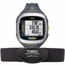 Relógio Monitor Cardíaco E Gps T5k743ra Runtrainer 2.0 Timex