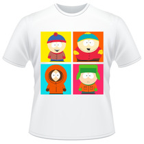 Camiseta Infantil South Park Kyle Stan Eric Kenny Camisa #02