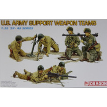 Dragon Figuras U S Army Support Weapon Teams