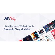 Jetblog 2.1.3 Blogging Package For Elementor Page Builder