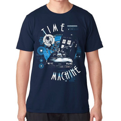 Camiseta Time Machine De Volta para o...