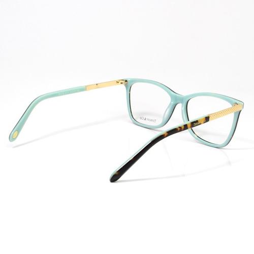 454583746865f Armação Oculos De Grau Tiffany   Co. Tf2099 Kit Azul. Preço  R  239 Veja  MercadoLibre