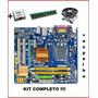 Placa Mae Gigabyte Lga 775 Ddr2 1gb Ga-g31m-es2l  +completa