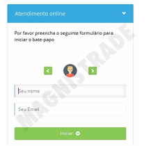 Script Php Atendimento Online - Chat - Admin - Responsivo