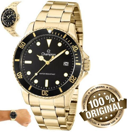 7f5b9f0f6e5 Relógio Champion Masculino Grande Prova D água Ca31266u