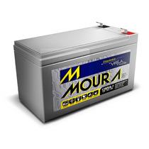 Bateria Moura Estacionária 12v 7a Vrla P/ No-breack , Alarme