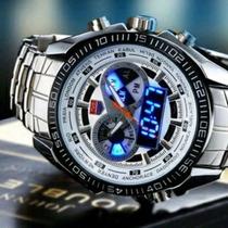 Relógio Masculino De Luxo Led Tvg Seals Elite Original