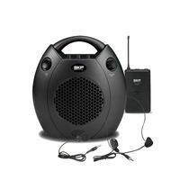 Kit Portátil De Microfone + Auto Falante Para Palestras Skp