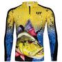 Camiseta De Pesca Proteção Solar Uv King Kff - Modelos