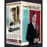 Box The Mentalist 1ª Á 7ª Temporada Dublado (34 Discos)