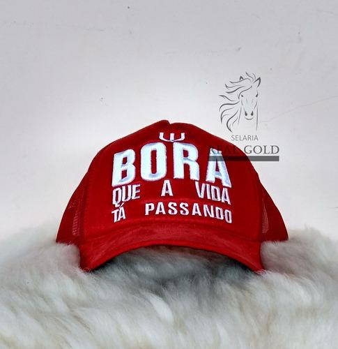 Boné Bora Que A Vida Tá Passando Sertanejo Country - R  31 en ... d3778b12bcb