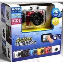 Câmera Digital Action Camcorder Sports A Prova D Água