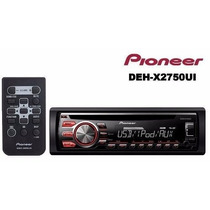 Cd Player Automotivo Pioneer Deh-x2750 Usb Novo + Pendrive 4
