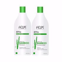 Felps Xmix Kit Duo Extrato De Bamboo 2x1000ml + Brinde