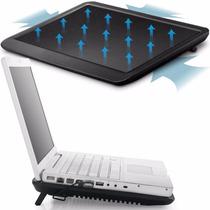 Cooler Notebook Base N19 Oletech C/ Led Design Fino Master