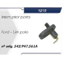Interruptor Botão Da Porta - Linha Ford - 1 Um Polo