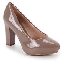 Sapato Scarpin Conforto Feminino Beira Rio - Marrom