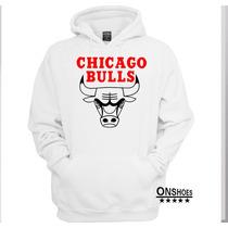 Moletom Nba Chicago Bulls01 Masculino/feminino Blusa Canguru