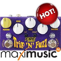 Pedal Fire Custom Shop Trip N Fuzz Garantia 3 Anos Envio 24h