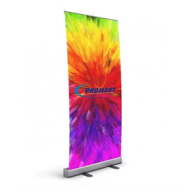 Porta Banner Roll Up Rollup 80x200cm
