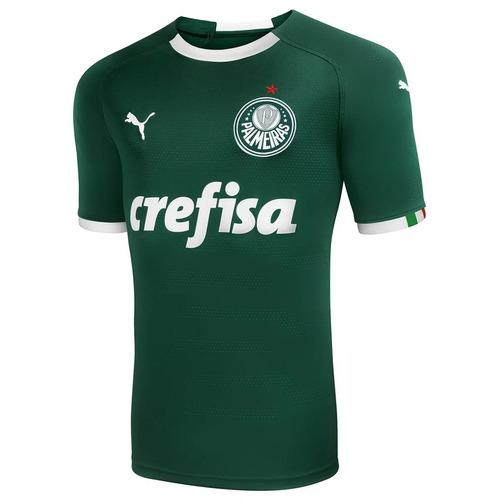 Nova Camisa Verde Oficial Palmeiras 2019 Puma Super Promoção 9e5091c1d6028