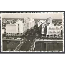 Postal Antigo Vista Panorâmica Recife (n-100)
