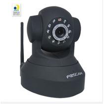Câmera Foscam Fi8918w Ip Cam Wifi Preta Visão Noturna