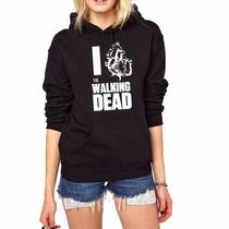 Blusa Moletom The Walking Dead Canguru Com Capuz!