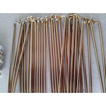 Jogo Raio Traseiro Titan 125 Ks/es 4mm (reforçado) Dourado