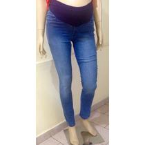 Calca Jeans Gestante