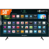 Smart Tv Led 58'' Ultra Hd 4k Samsung Nu7100 Hdmi Usb Wi-fi