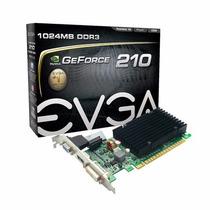 Placa De Vídeo Evga Gt210 1gb Ddr3 Pci-e 2.0 Nf E Garantia