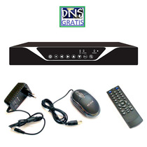 Dvr Stand Alone 16 Canais 480fps Tempo Real Audio Touch D1